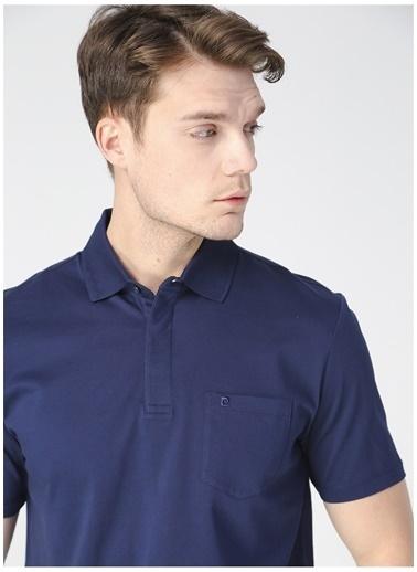 Pierre Cardin Pierre Cardin Erkek Regular Fit Polo Yaka Lacivert T-Shirt Lacivert